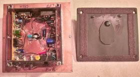 Interior                     of as-built version 3.02 circuit